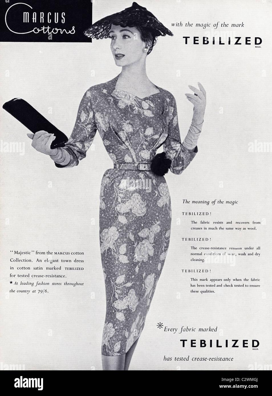 Haute Couture 1950s Stock Photos & Haute Couture 1950s