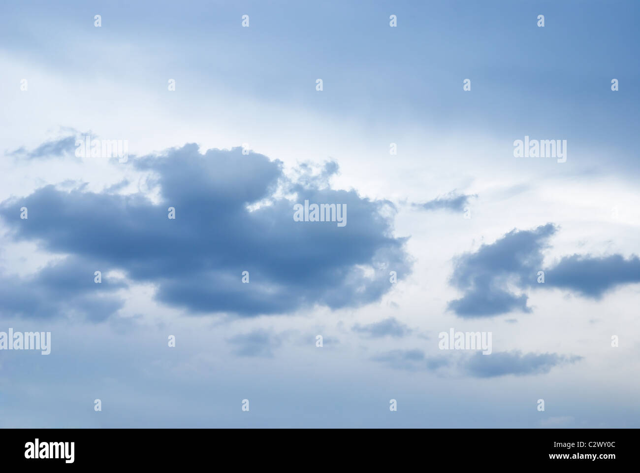 sky background - Stock Image