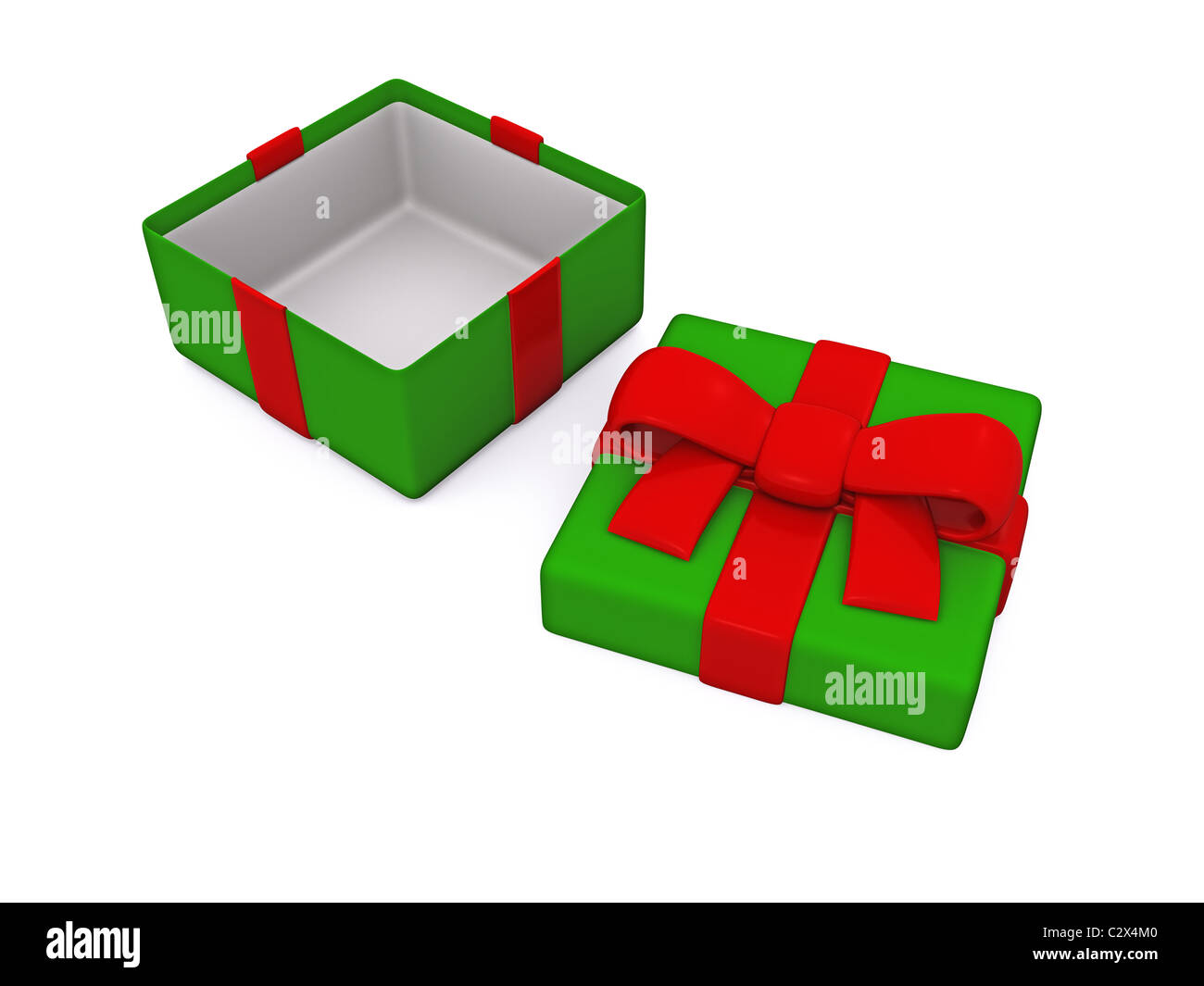 Open gift box 3d stock photo 36224496 alamy open gift box 3d negle Images