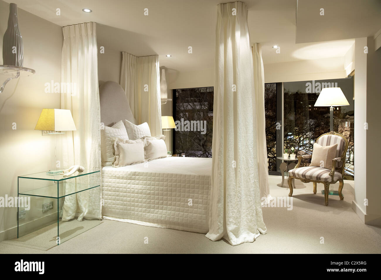 Michael Reeves designer interiors Stock Photo