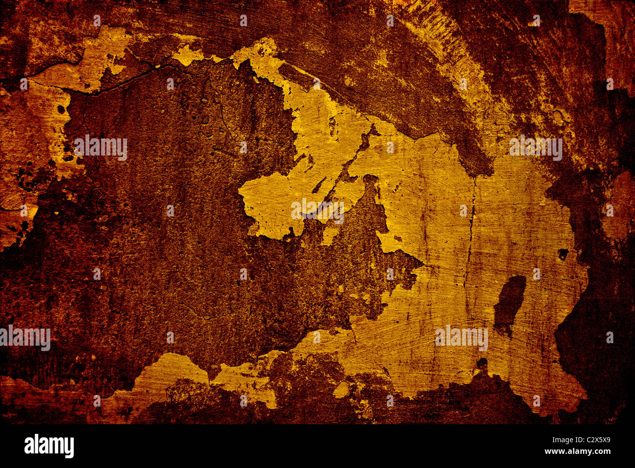 dirty wall surface texture - Stock Image