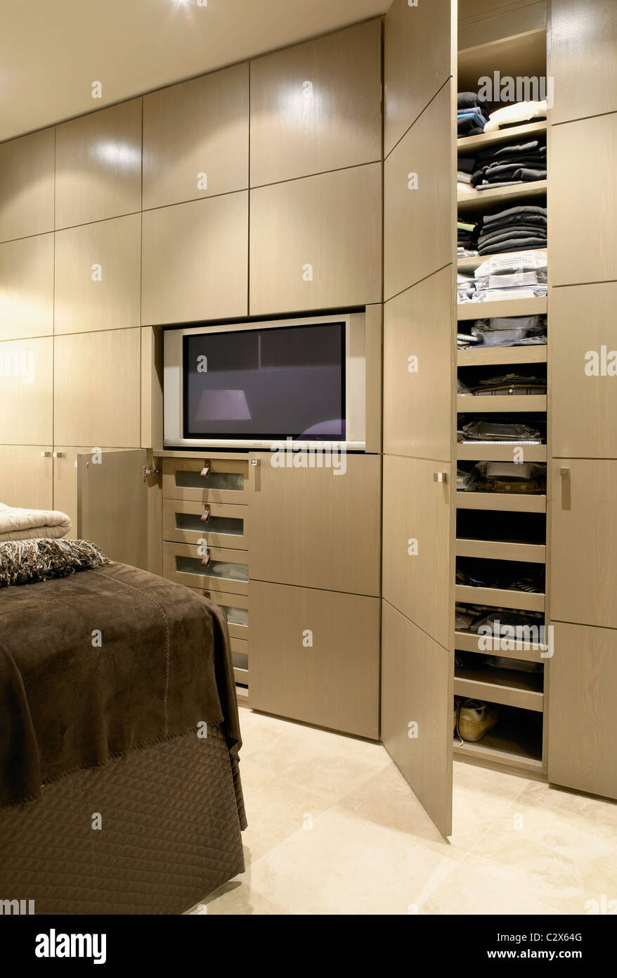 Michael Reeves designer interiors - Stock Image