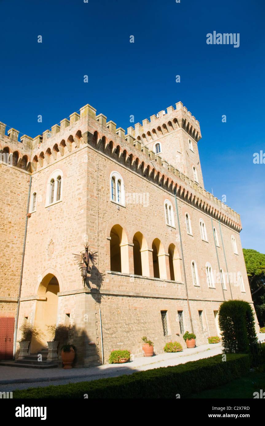 Castello Pasquini in Castiglioncello, Near Livorno, Italy - Stock Image