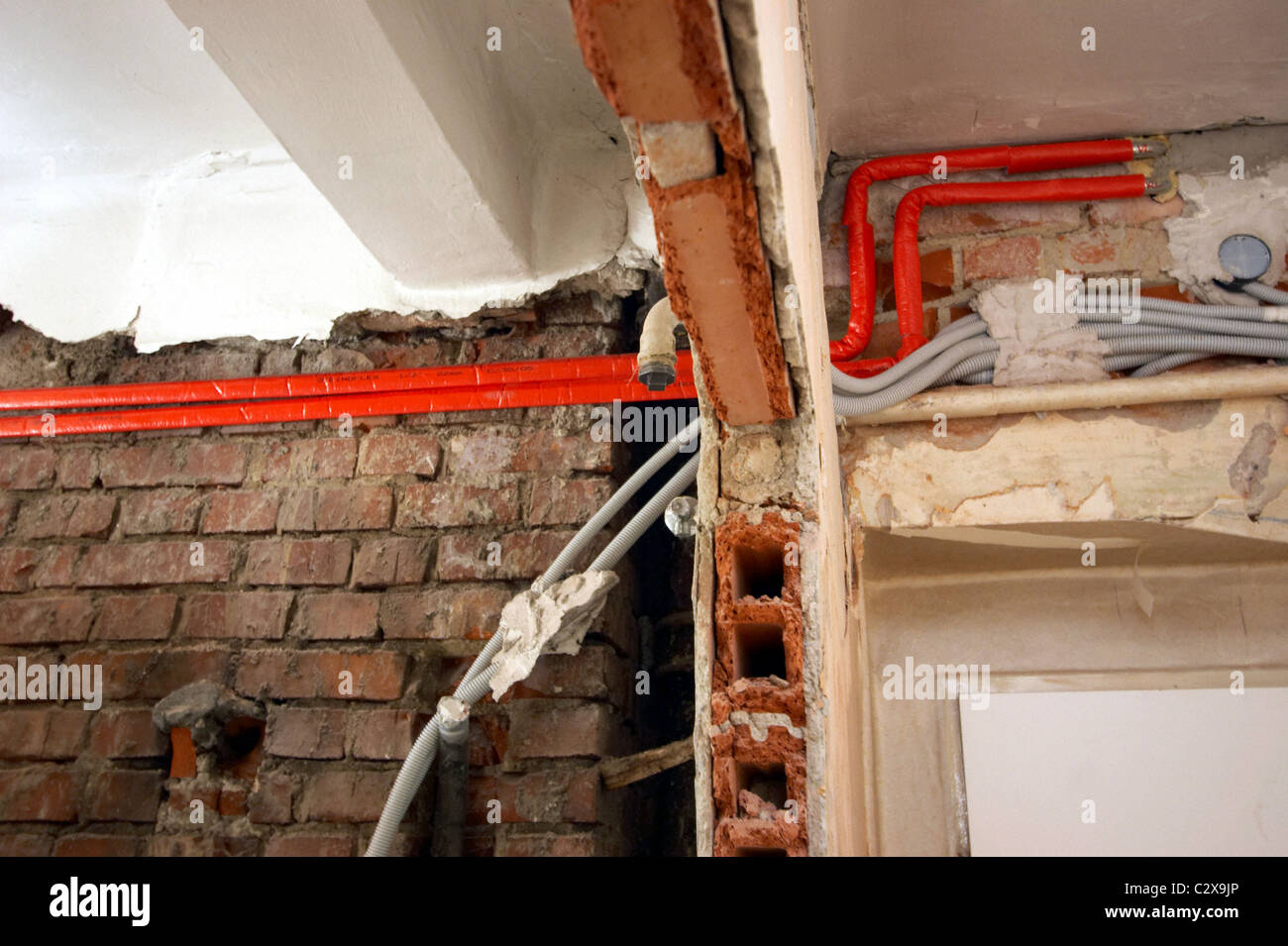Renovation work in an old apartment Stock Photo: 36228382 - Alamy