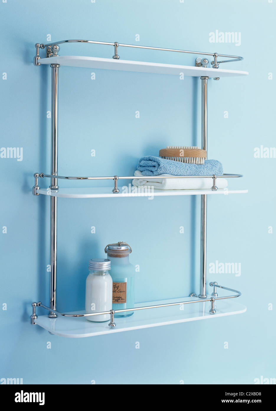 bathroom shelves Stock Photo: 36229796 - Alamy