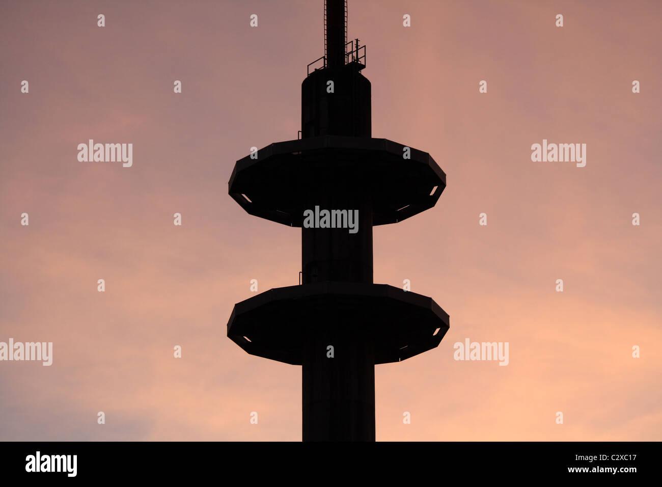 Tower, Neunkirchen, Saarland, Germany Stock Photo