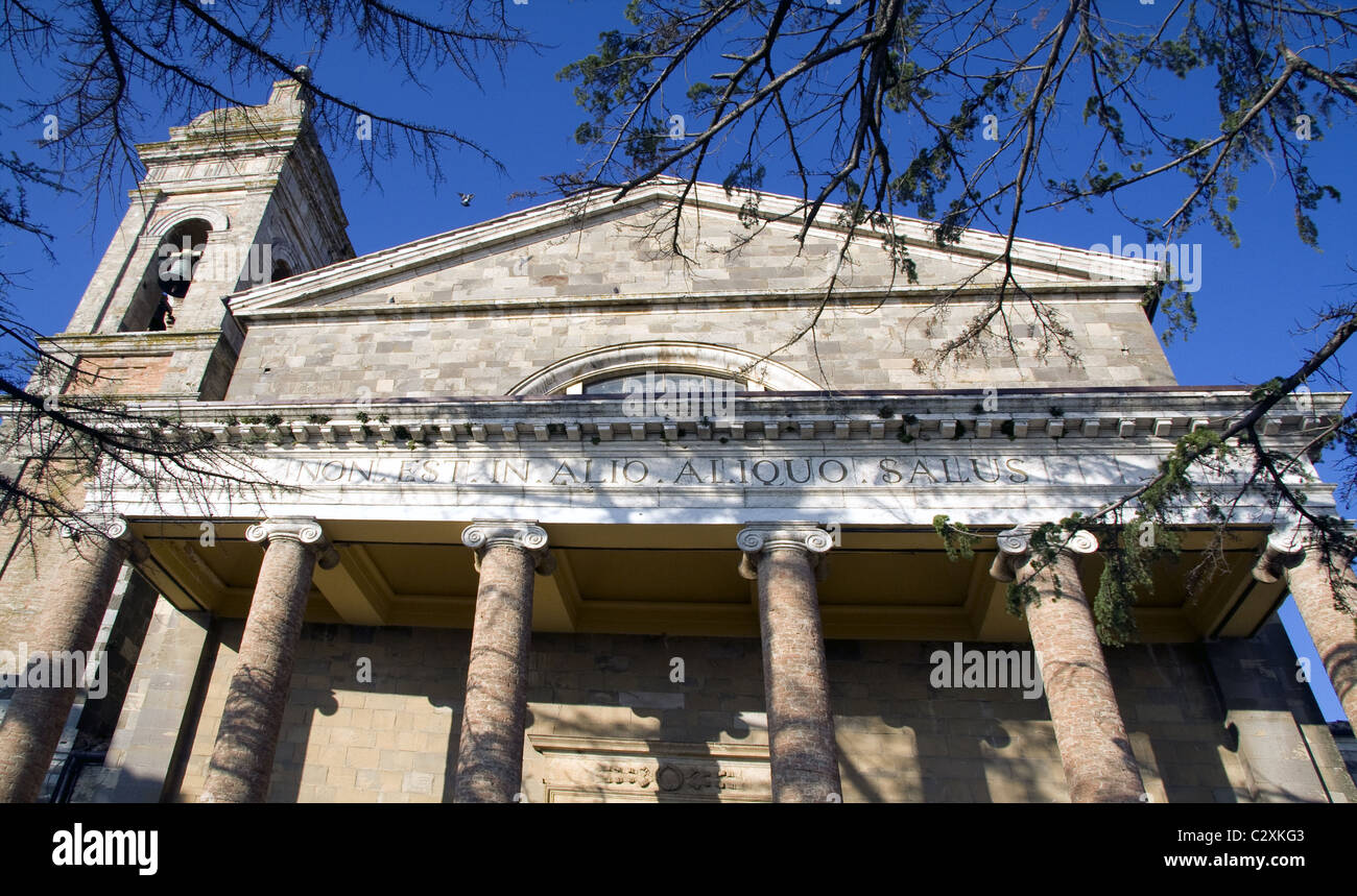 San Salvatore, Montalcino, Tuscany, Italy - Stock Image