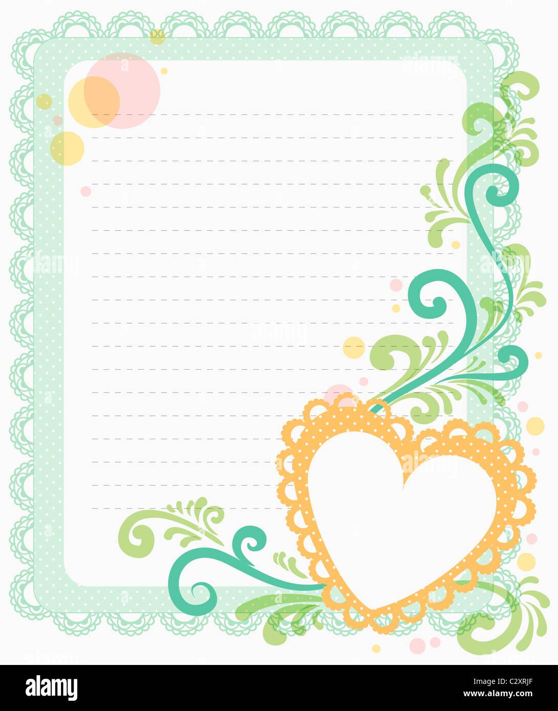 fancy letter paper backdrop stock photo 36239351 alamy