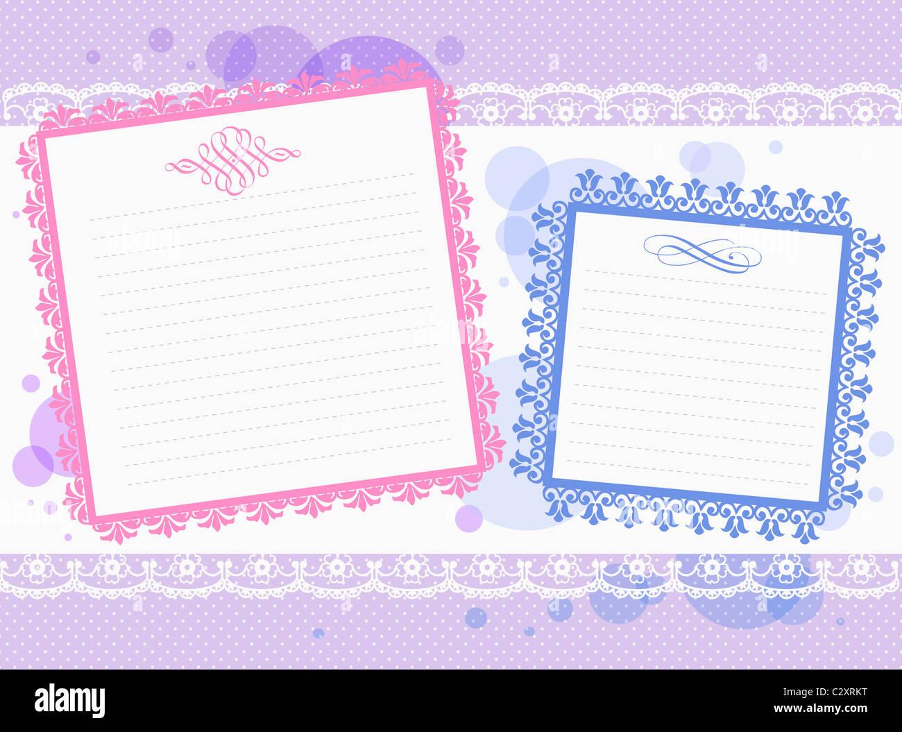 fancy letter paper backdrop stock photo 36239388 alamy