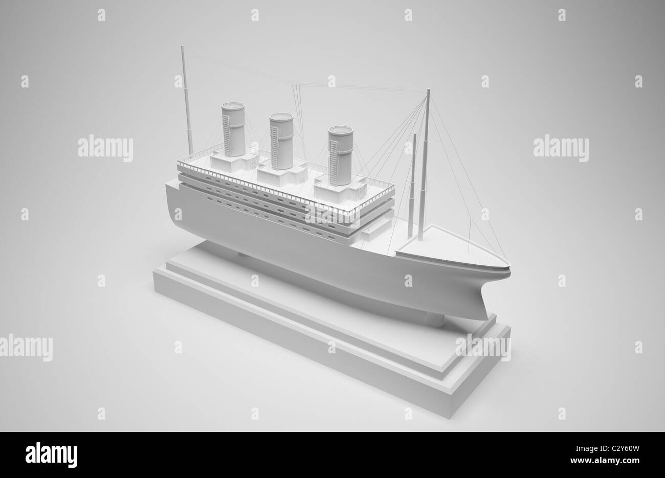 papercraft ship Stock Photo: 36247481 - Alamy