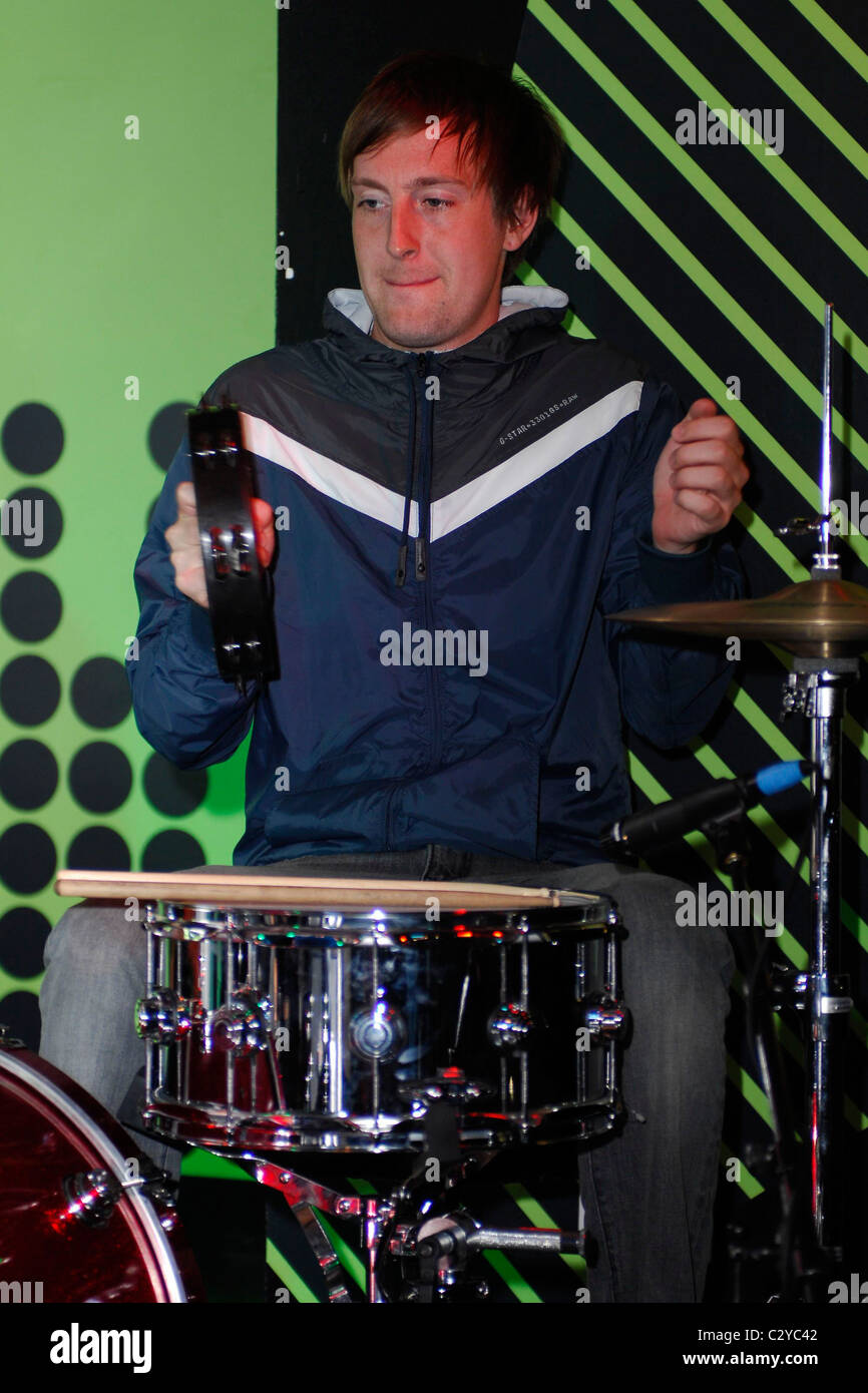 Matt Mcginley Gym Class Heroes Perform For The Launch Of Their New
