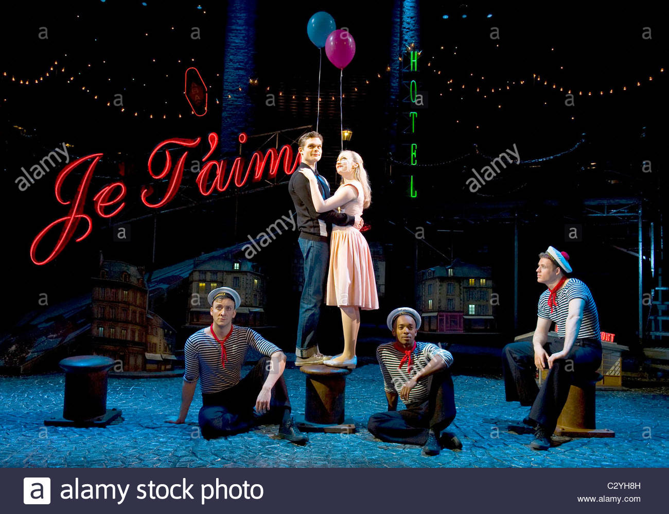 The Umbrellas of Cherbourg. A Kneehigh Production directed by Emma Rice. - Stock Image