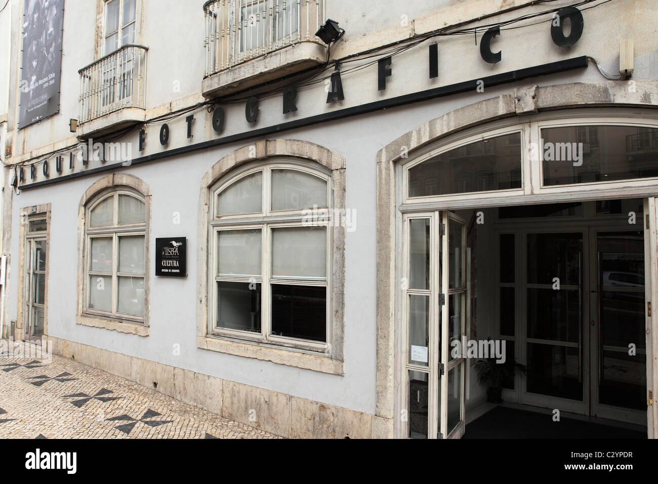 The Photographic Archive (Arqivo Fotografico) in Lisbon, Portugal. - Stock Image