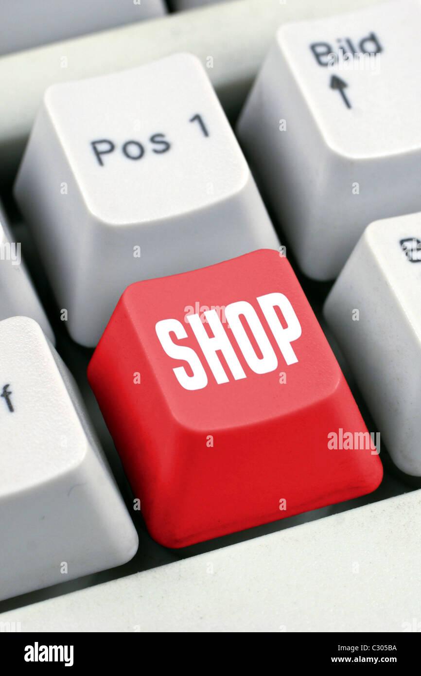 Symbolic for e-commerce - Stock Image