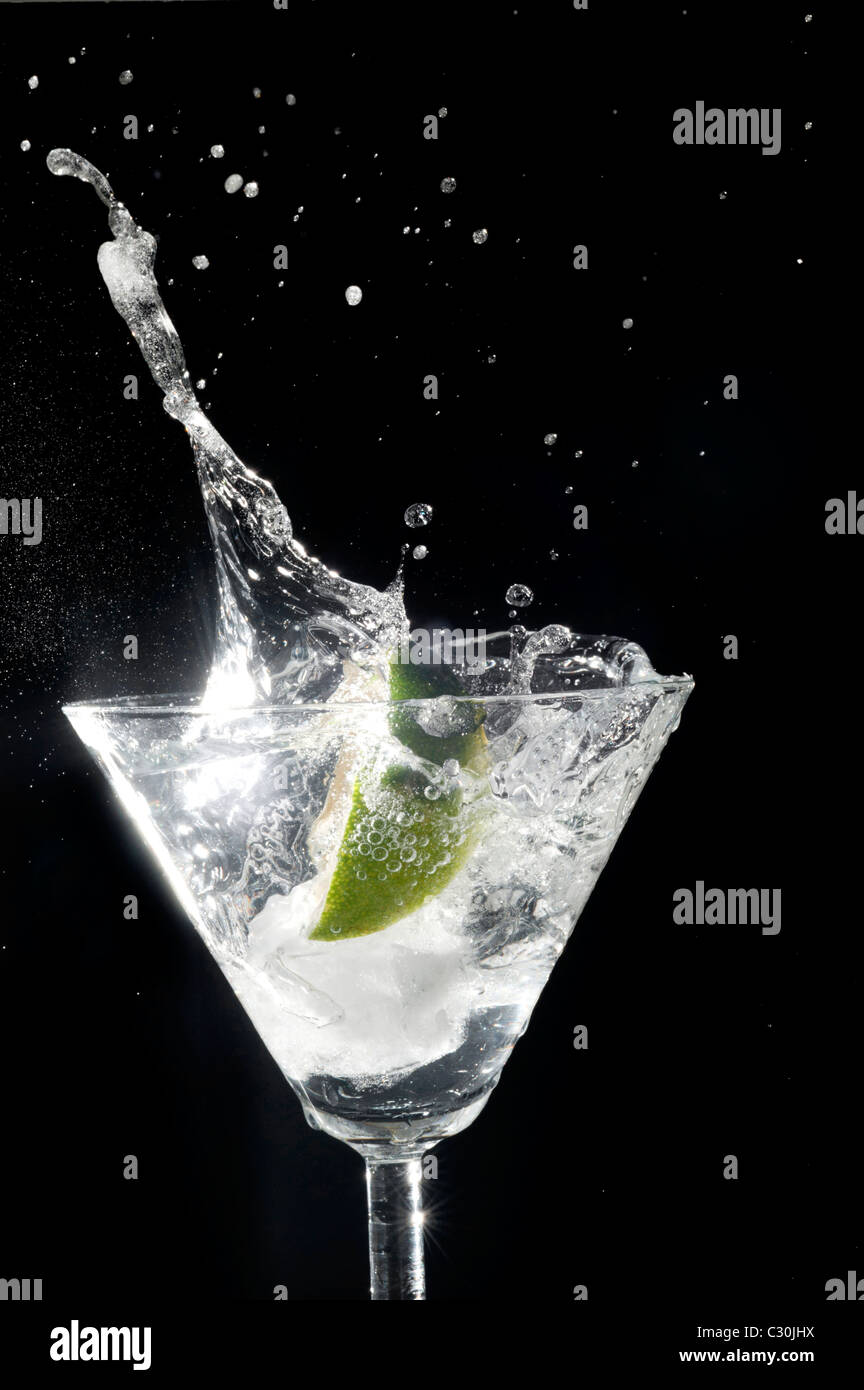 Gin and Tonic - Stock Image