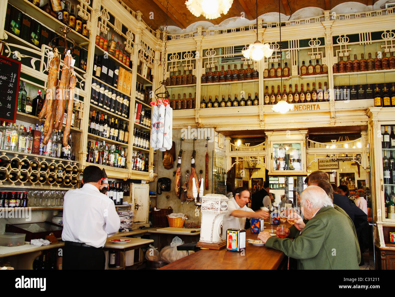 The Famous El Rinconcillo Tapas Bar In Seville Said To Be