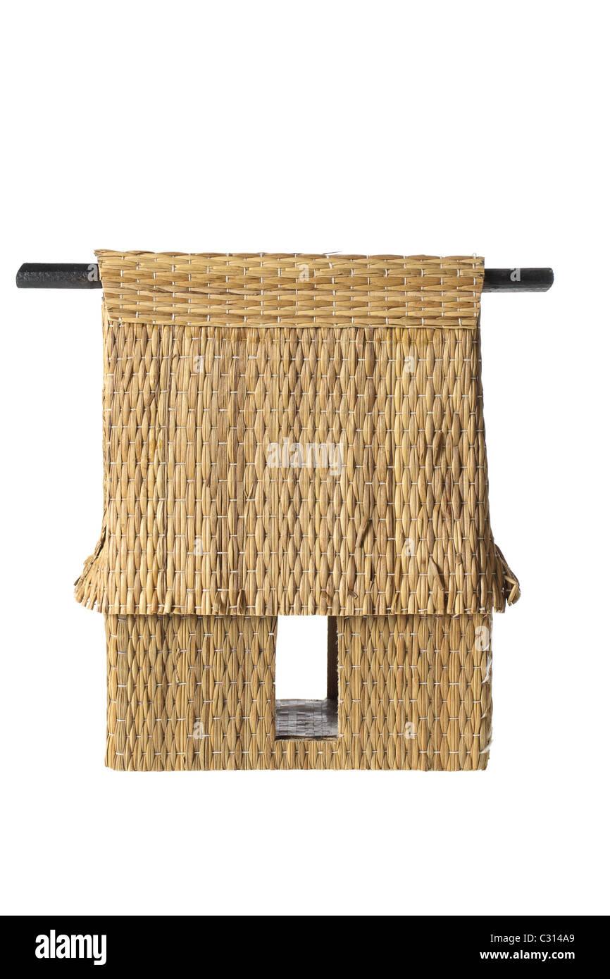 Miniature Hut - Stock Image