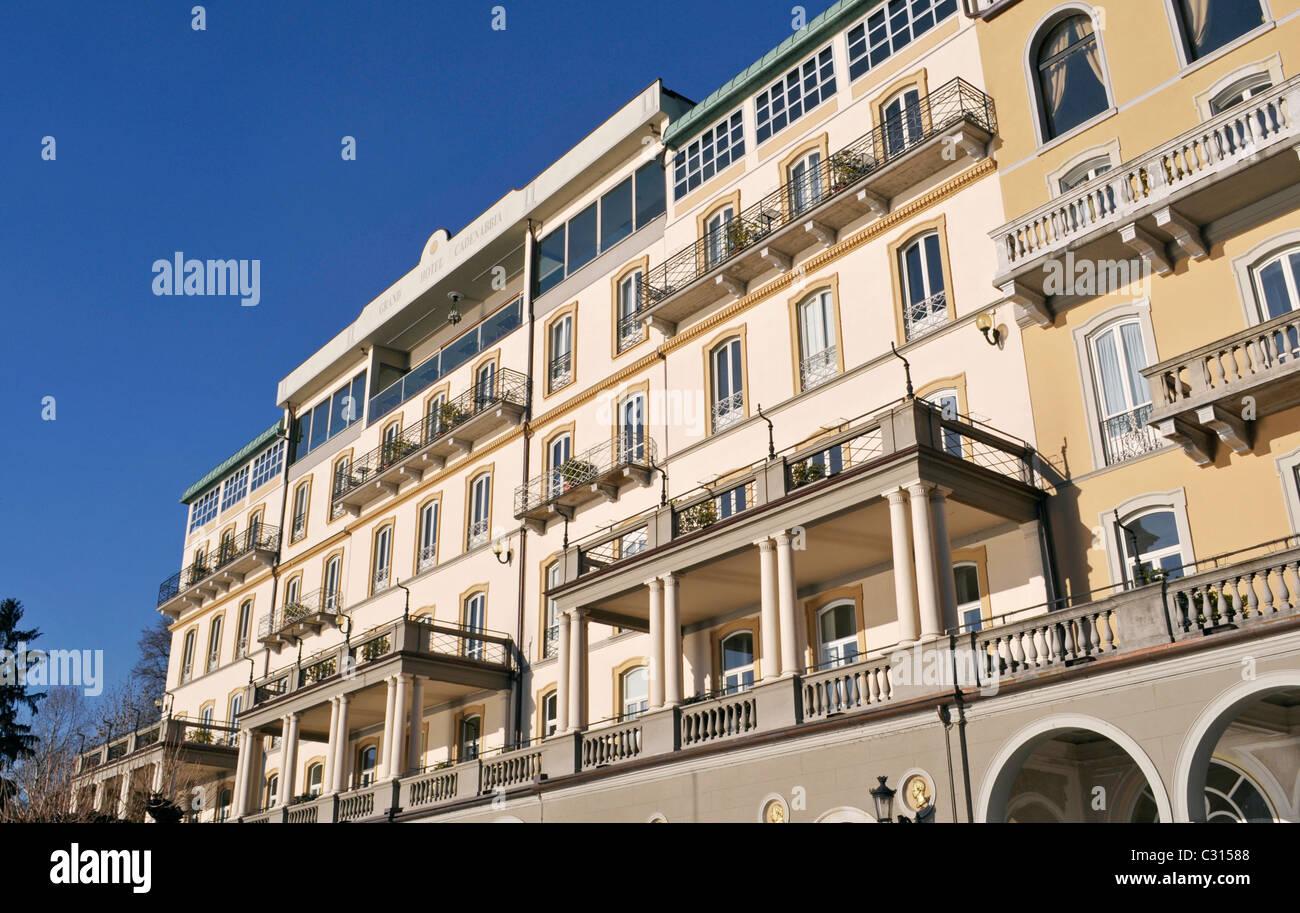 Grand Hotel Cadenabbia Lake Como Italy Stock Photo 36290808 Alamy