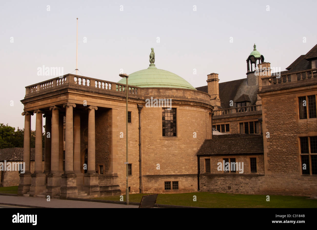 Rhodes House South Parks Rd Oxford - Stock Image