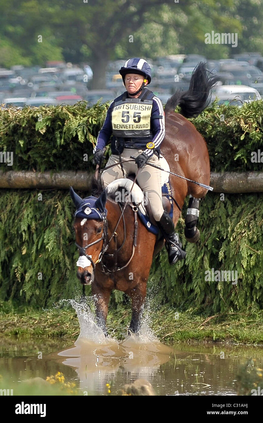 Hawley Bennett-Awad (CAN) riding GIN AND JUICE jumps fence