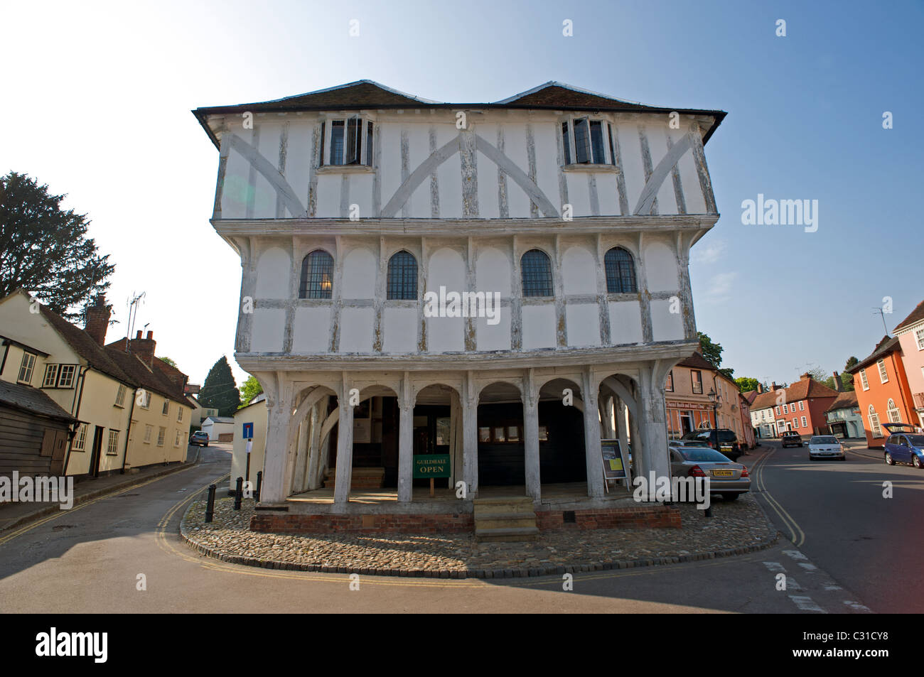 Guildhall, Thaxted, Essex, UK. - Stock Image