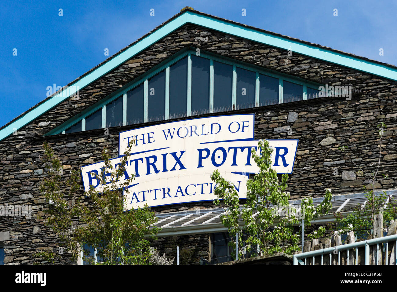 The World of Beatrix Potter Attraction in Bowness, Lake Windermere, Lake District National Park, Cumbria, UK - Stock Image