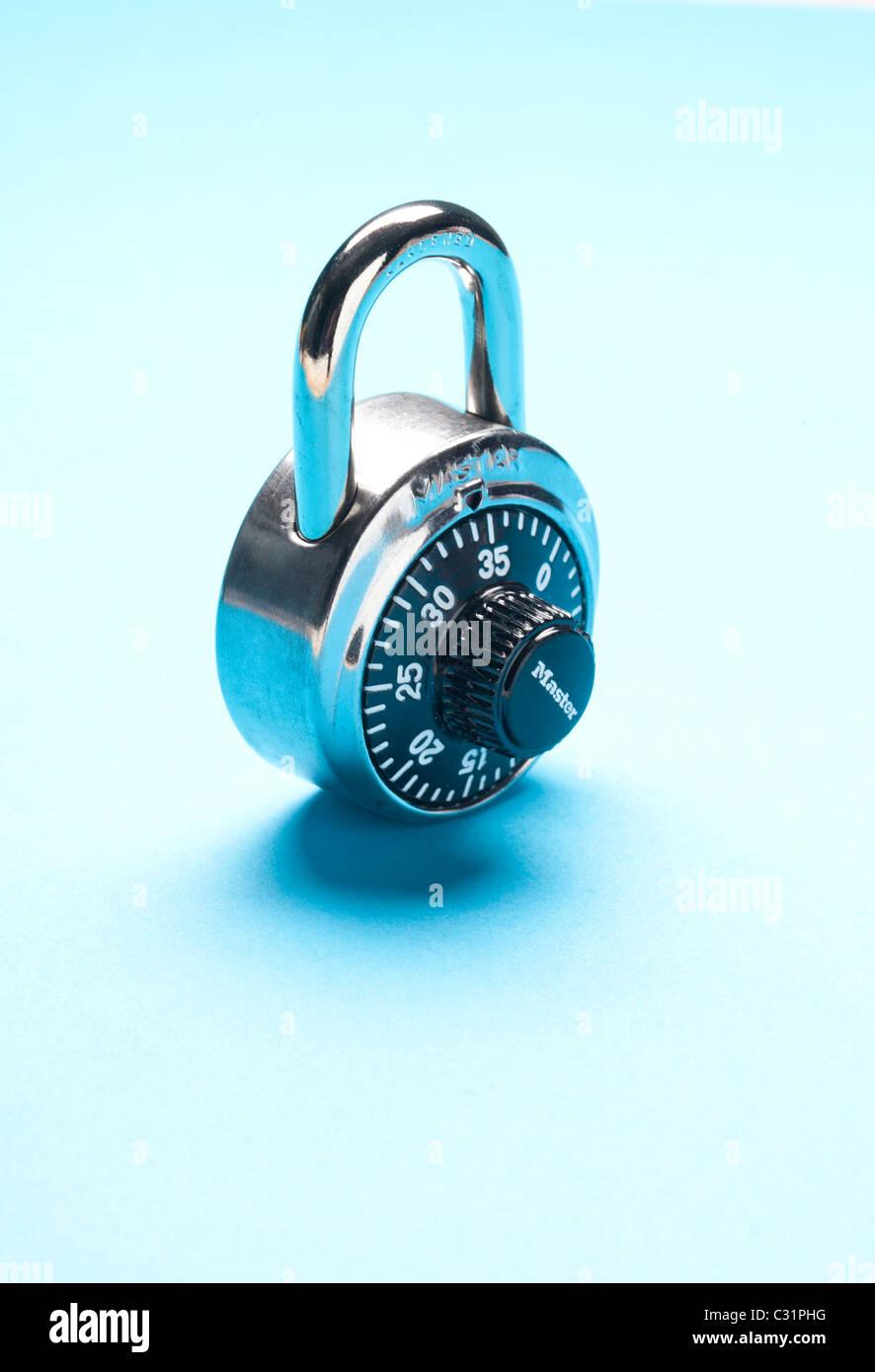 pad lock - Stock Image