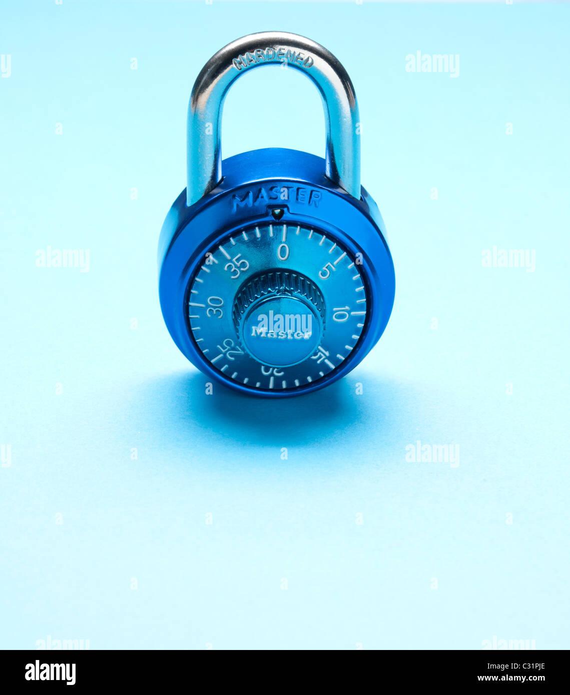 combination lock - Stock Image