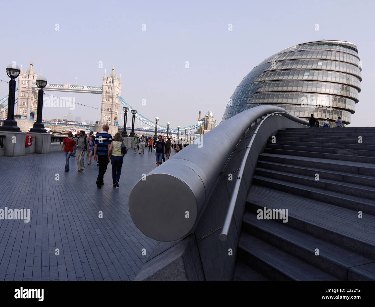 City Hall Home of the Greater London Authority City Hall is home to the Mayor of London, the London Assembly - Stock Image