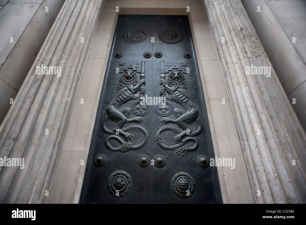 The Bank of England, Bank, London, 21st August 2009. - Stock Image