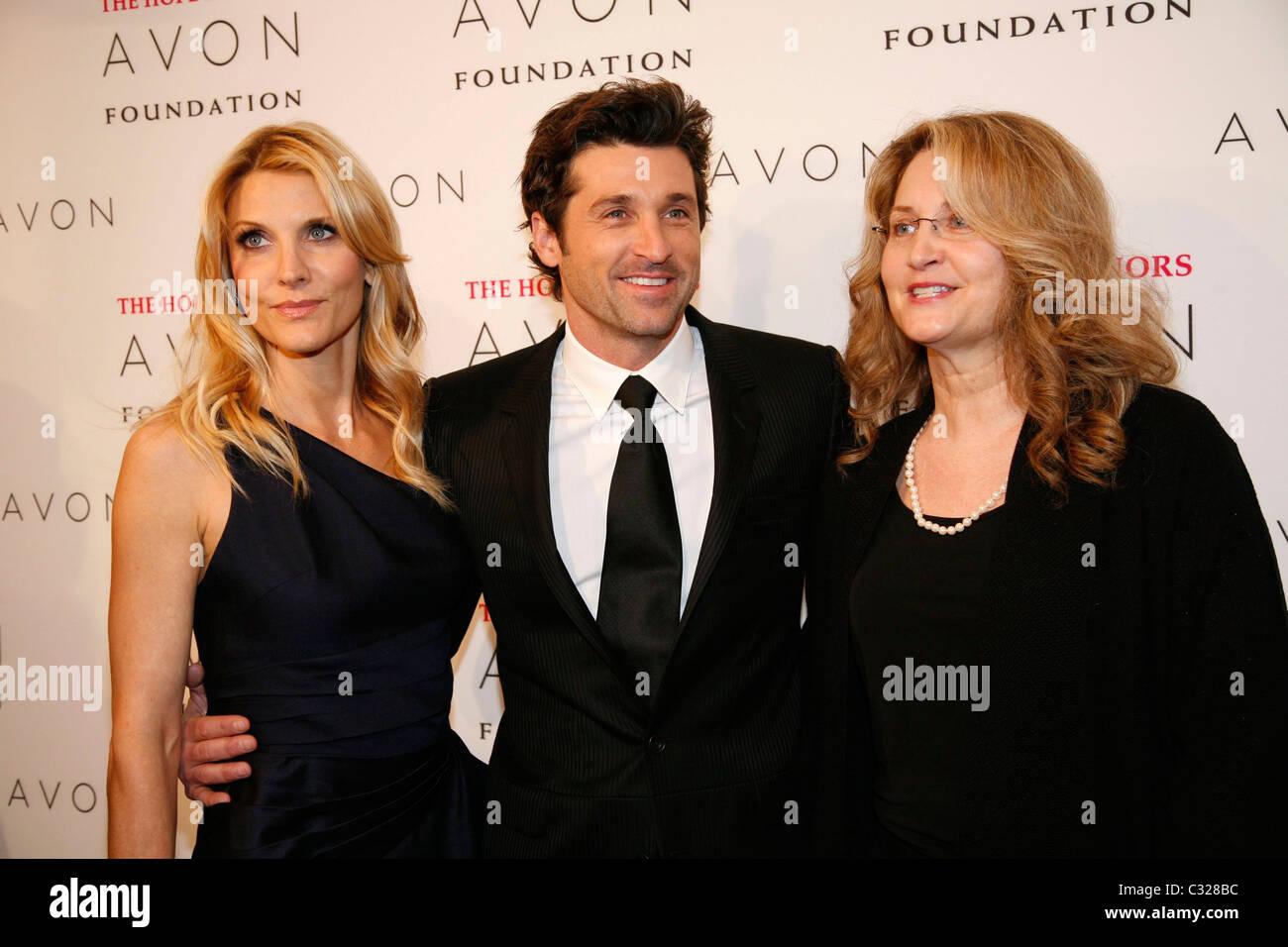 Jillian Dempsey Patrick Dempsey And Kerry Irish The Avon Foundation