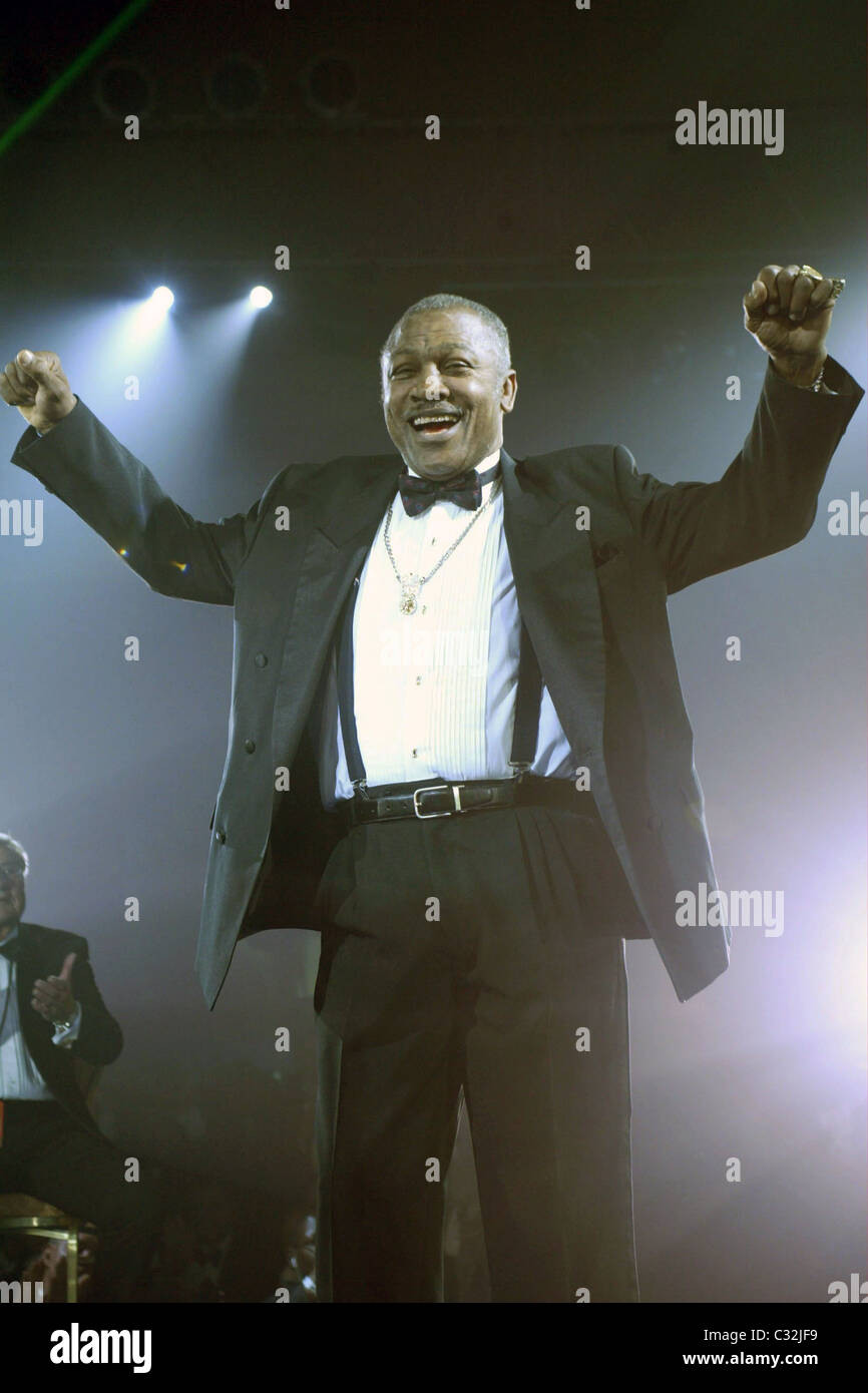 Joe Frazier 'Fight Night Fight For Children' fundraiser to benefit low-income children at the Hilton Hotel - Stock Image