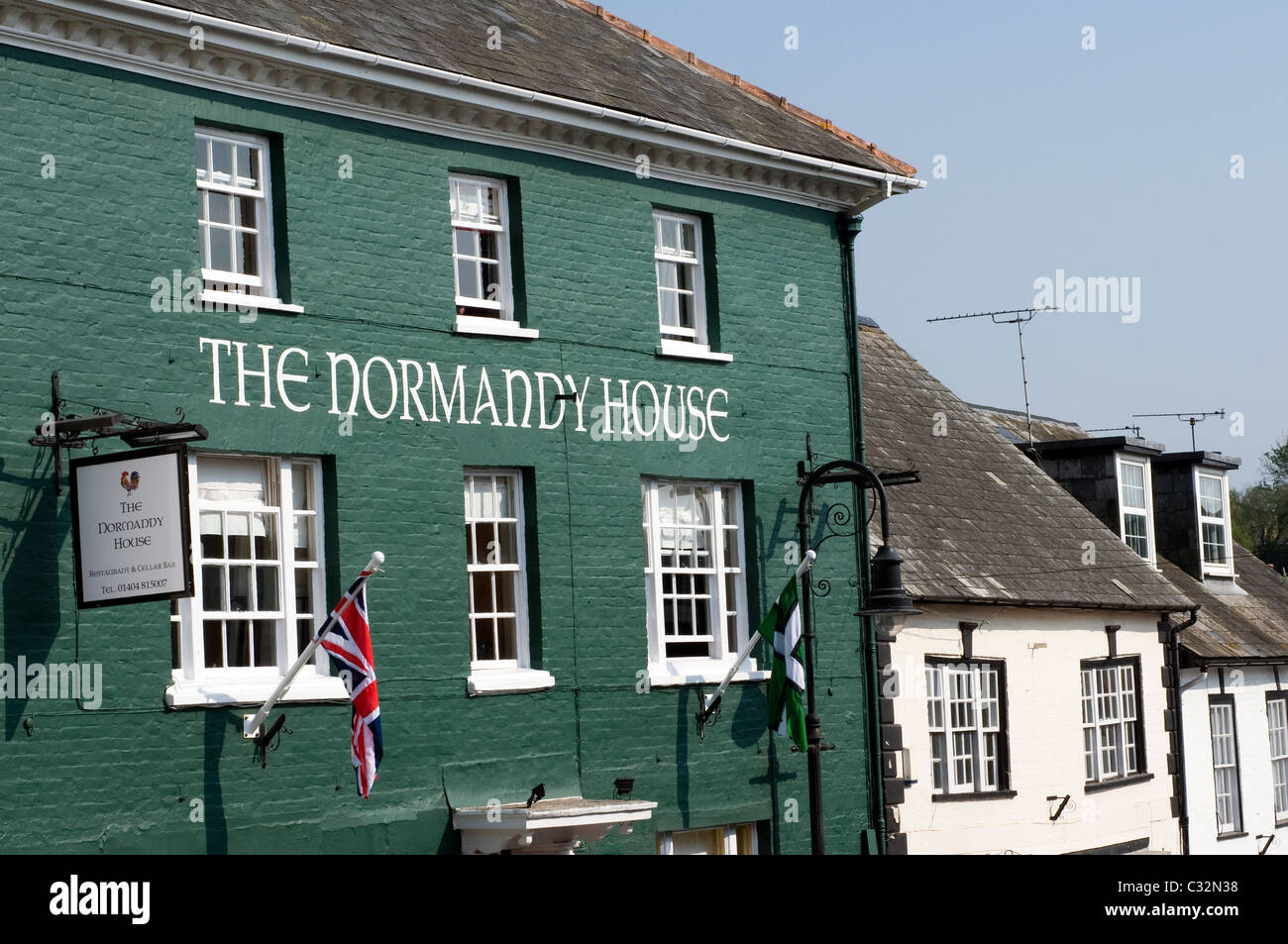 The Normandy House And Buildings In Ottery St Mary Devon High Resolution Stock Photography And Images Alamy