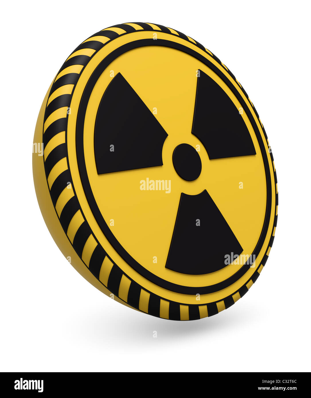 Radioactive Warning Symbol Stock Photos Radioactive Warning Symbol