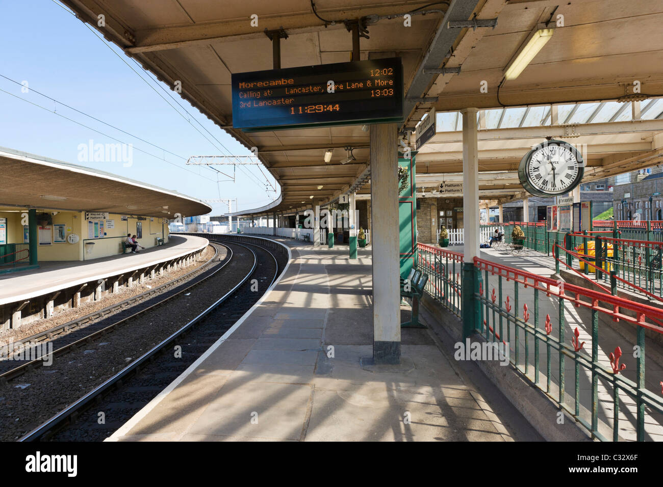 Carnforth Railway Station (location for the 1945 film 'Brief Encounter'), Carnforth, Lancashire, UK - Stock Image