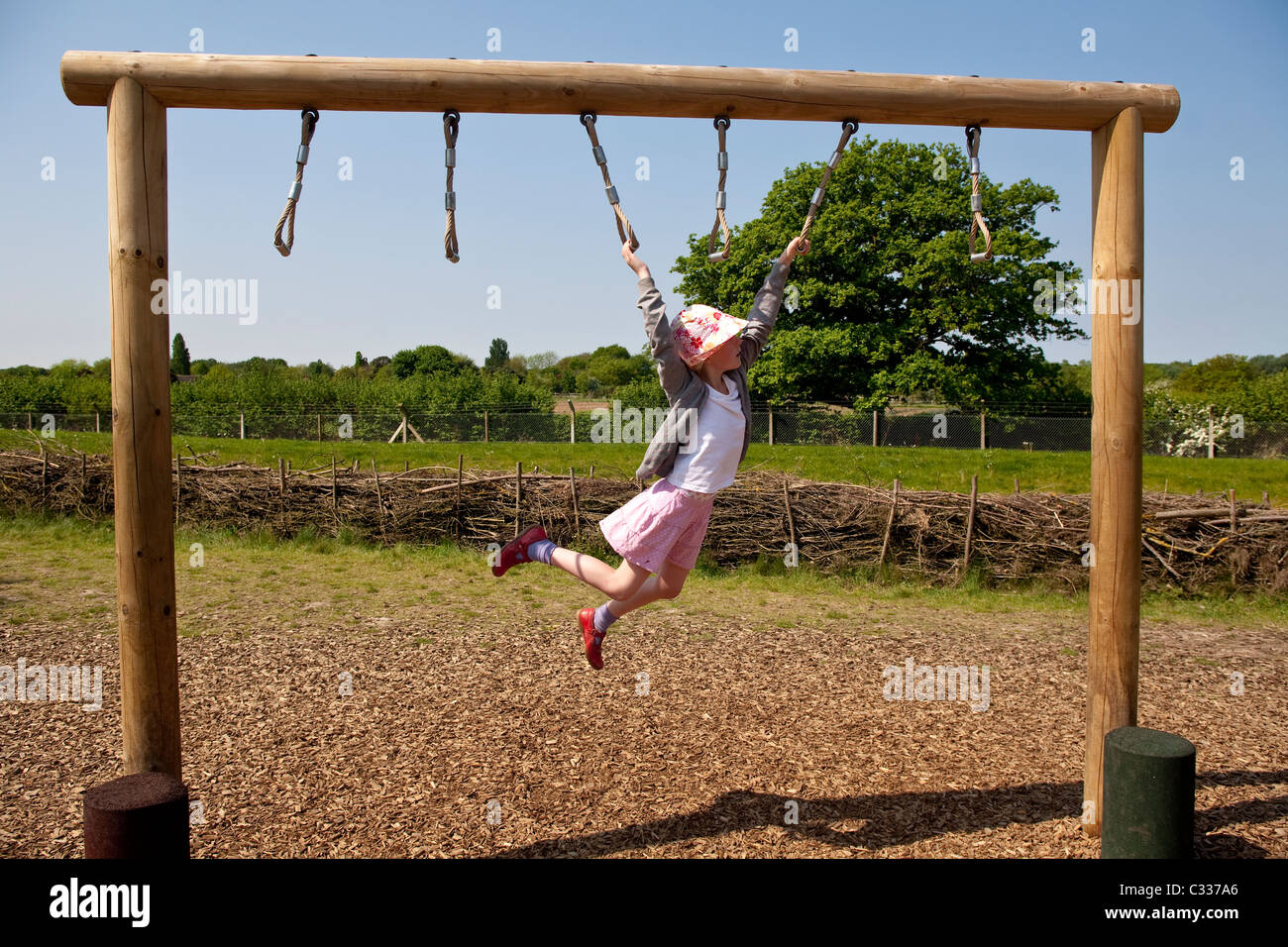 Wild at Wisley Children\'s outdoor activity play area at Wisley ...