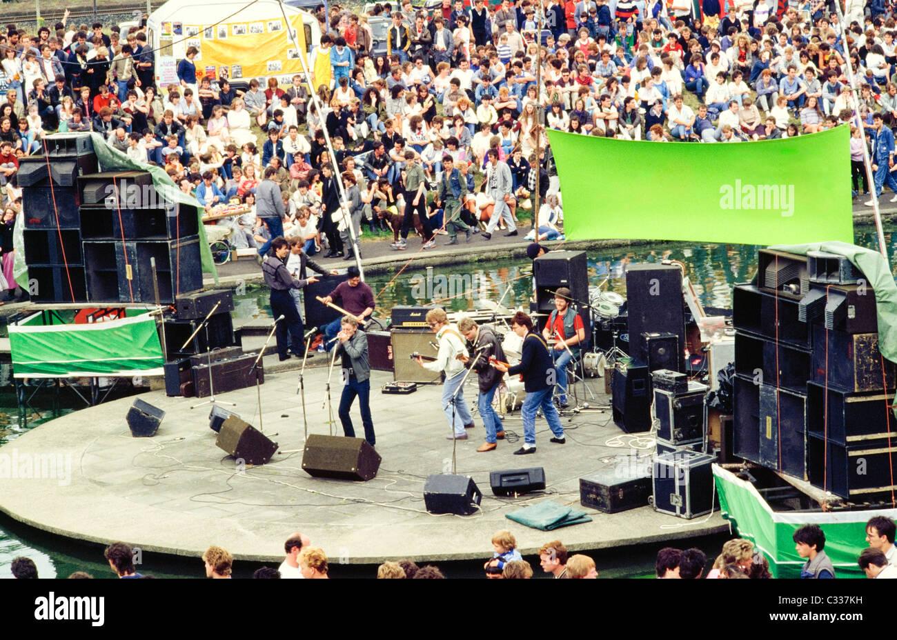 Dublin, Co Dublin, Ireland, Lark In The Park - Stock Image