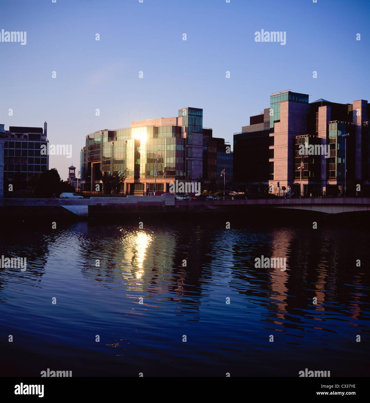 Dublin, Co Dublin, Ireland, International Financial Services Centre (Ifsc) - Stock Image