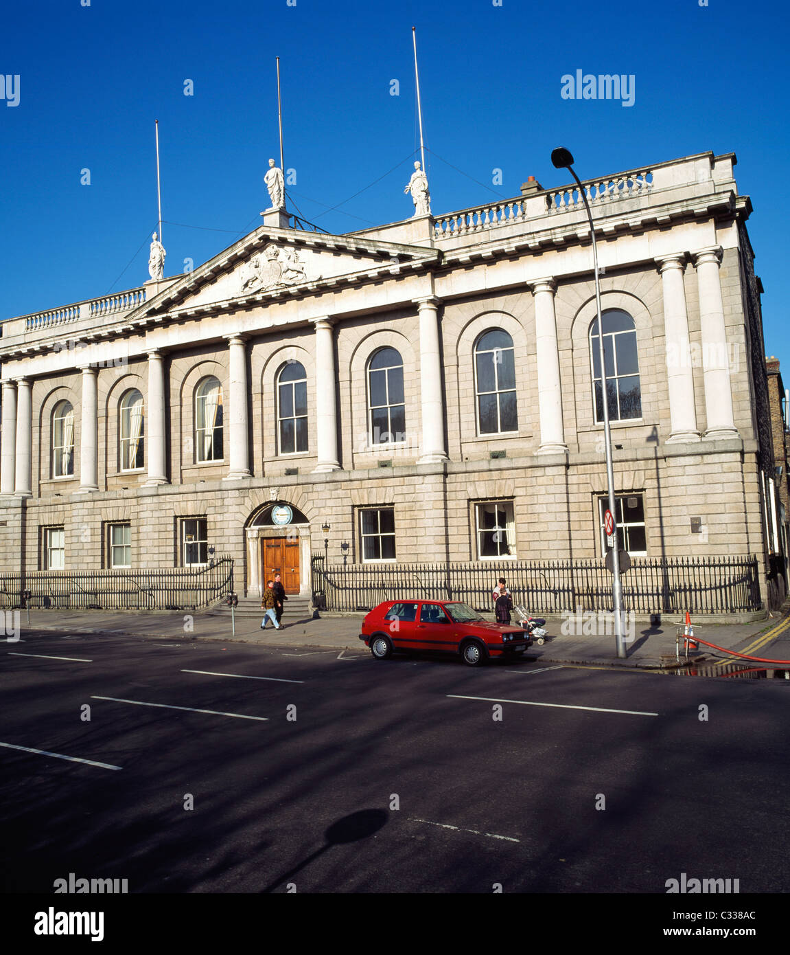 Dublin City, Co Dublin, Ireland, The Royal College Of Surgeons, St. Stephens Green - Stock Image