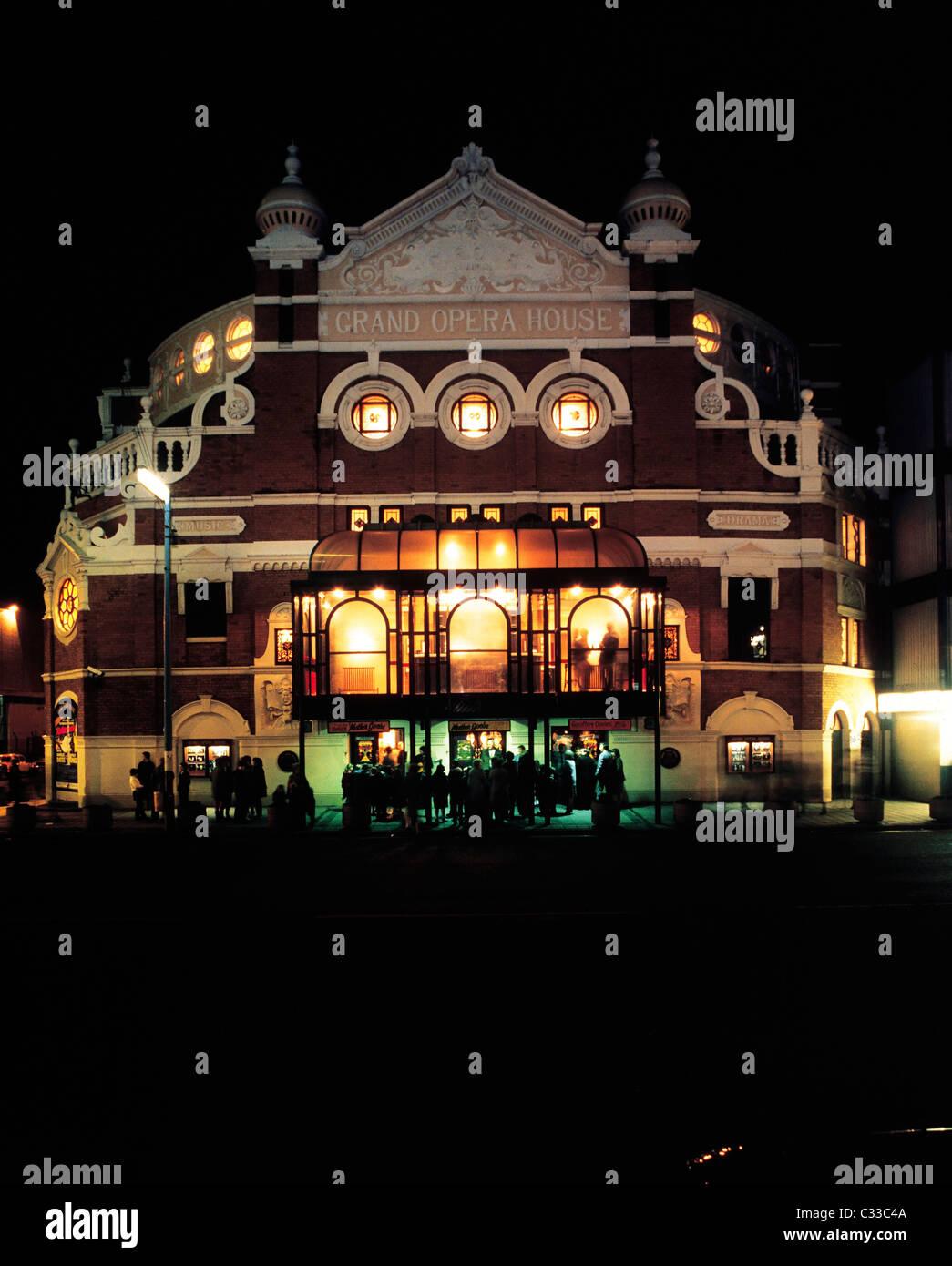 Belfast, County Antrim, Northern Ireland, The Grand Opera House - Stock Image