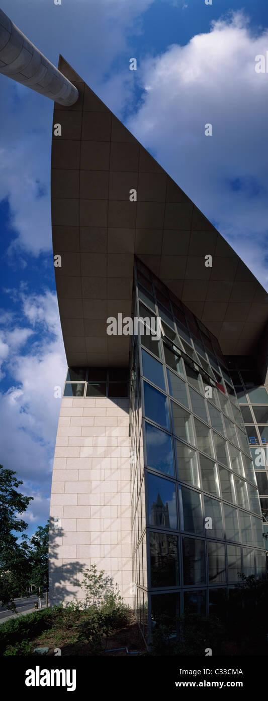 Dublin,Co Dublin,Ireland;View Dublin Council Buildings In Wood Quay - Stock Image