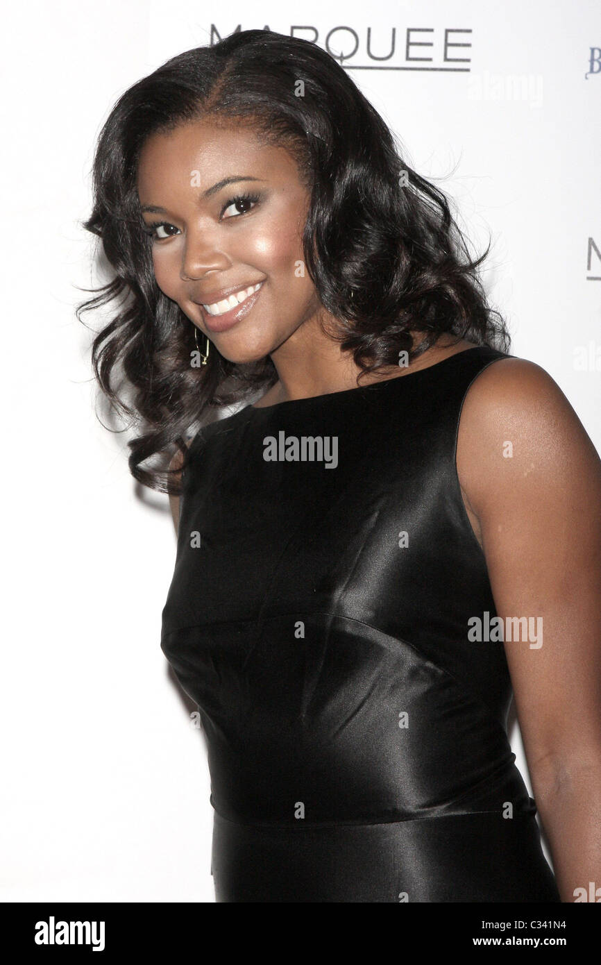 Gabrielle Union New York Premiere of 'Cadillac Records' at AMC Loews