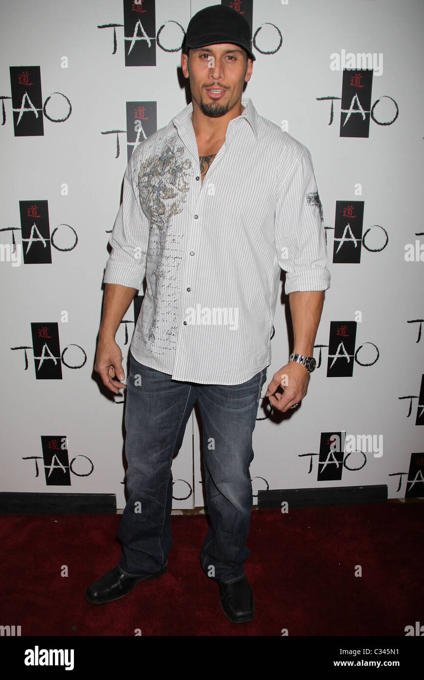 Tanoai Reed  (Toa) 3rd Annual TAO Boot Camp at TAO Nightclub inside the Venetian Hotel Las Vegas, Nevada - 23.01.09 - Stock Image