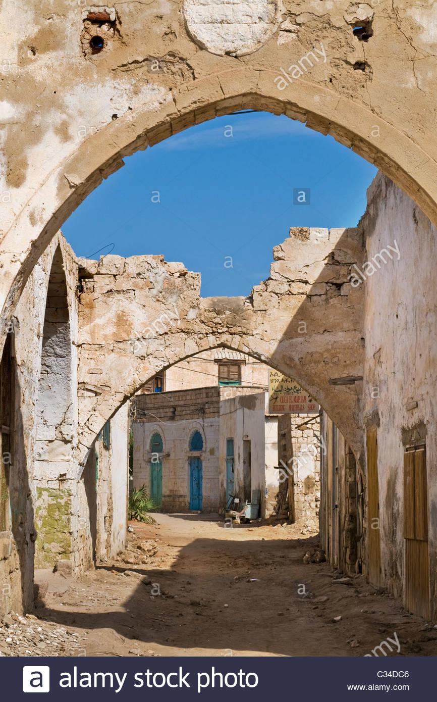 Massawa, Eritrea Stock Photo