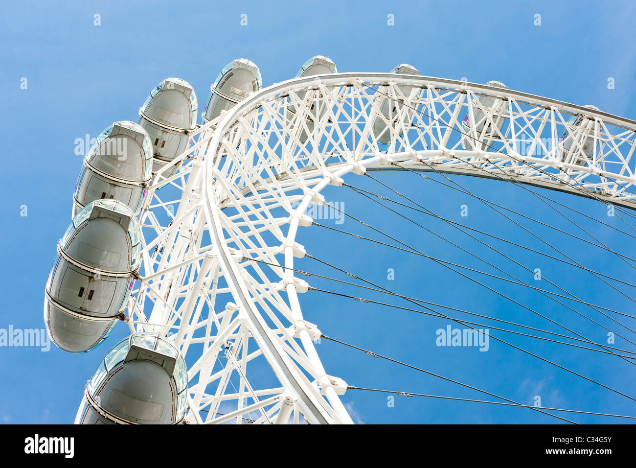 The London Eye, London, Great Britain Stock Photo