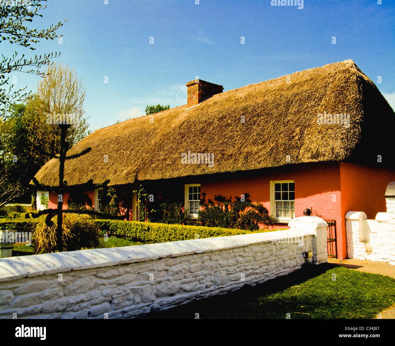 Shannon, Co Clare, Ireland, Bunratty Folk Park - Stock Image