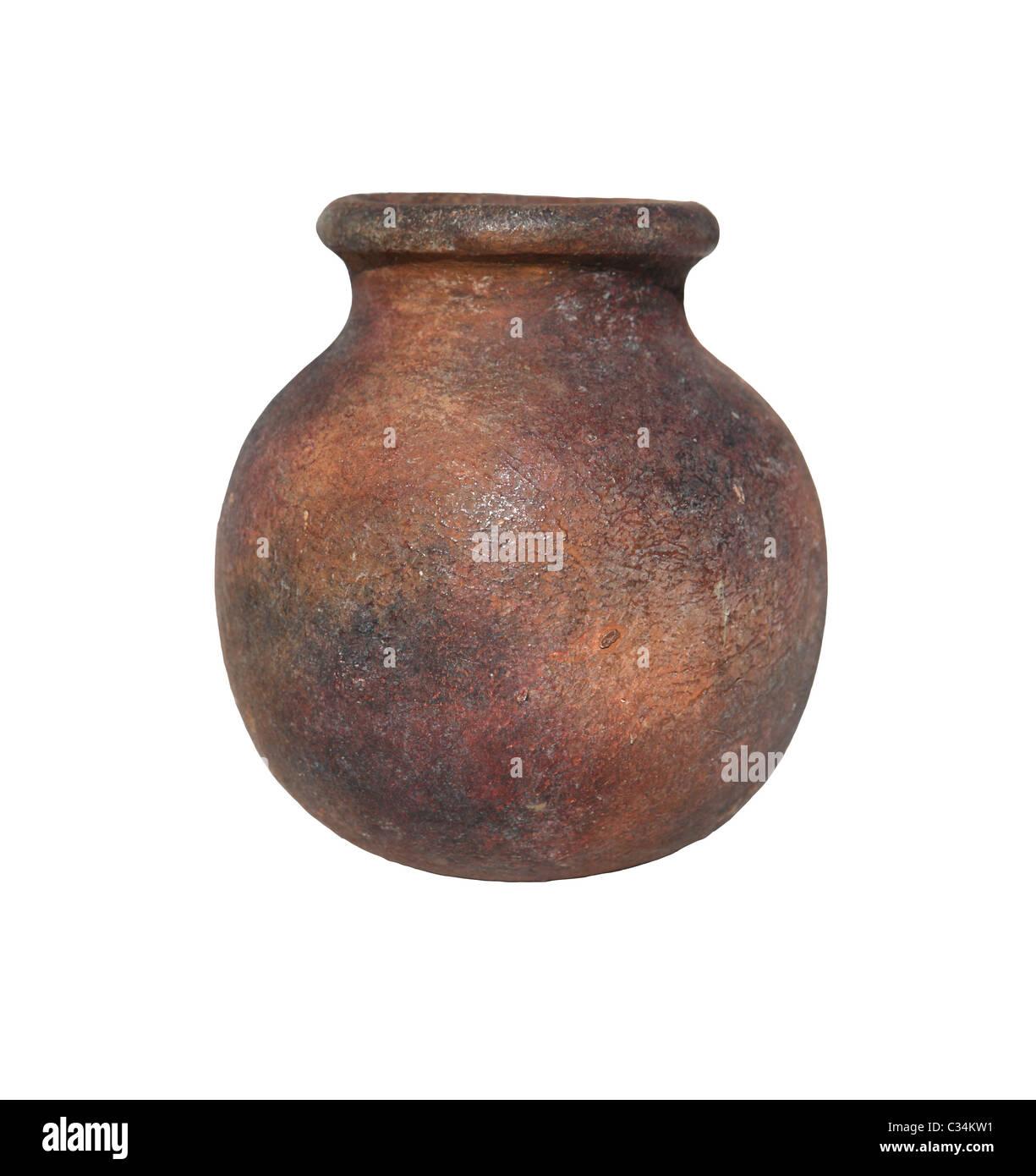 Earthenware pots - Stock Image