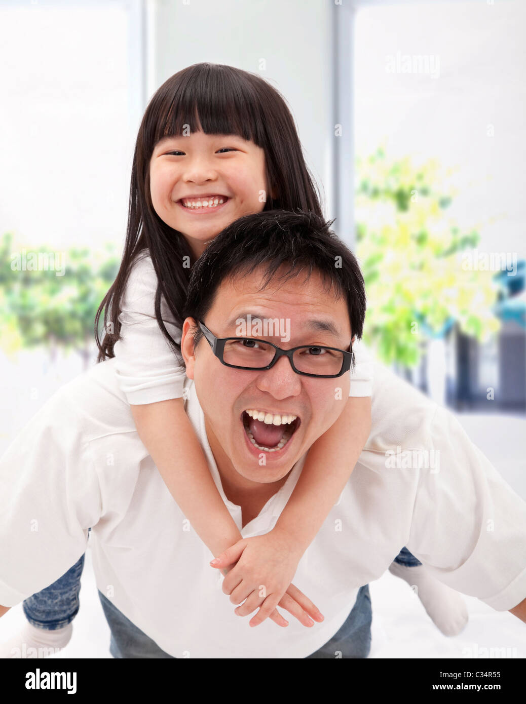 asian girl dad