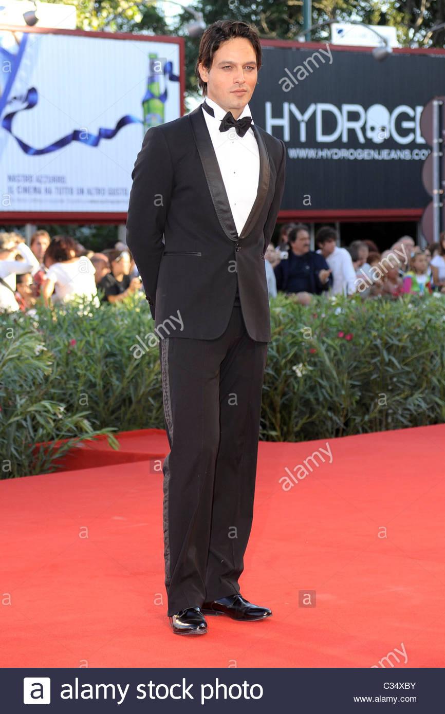 gabriel garko, 67th international venice film festival - Stock Image