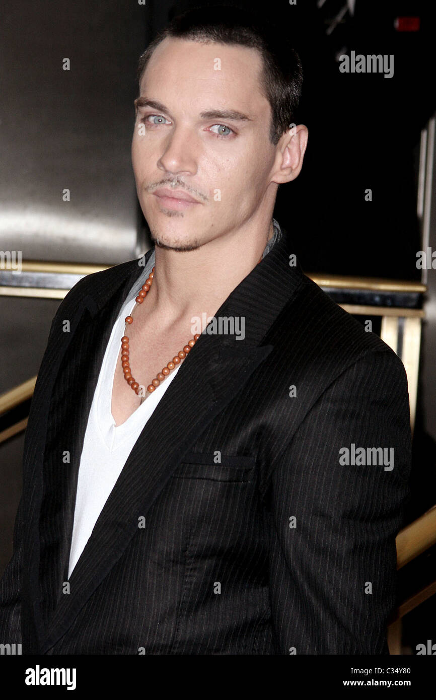 73ddb1eb0 Jonathan Rhys Meyers launches the new fragrance by Hugo Boss: Boss Elements  for Men, at Macy's Herald Square New York City, USA